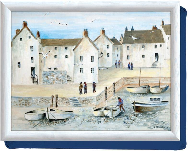 Image of Creative Tops Cornish Harbour Lap Tray.