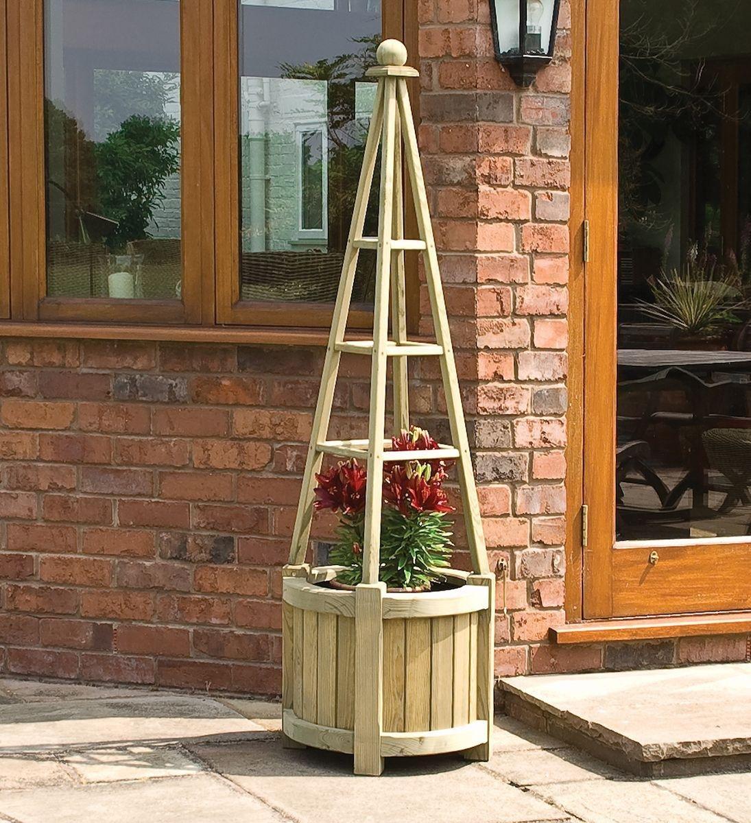 Rowlinson Marberry Obelisk Planter. lowest price