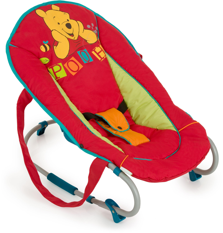 Image of Disney Baby Rocky Winnie the Pooh Walker Bouncer.