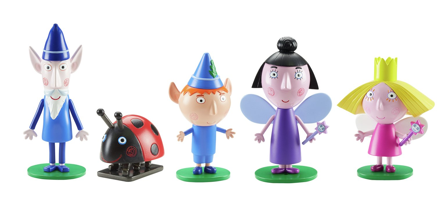 Ben & Holly's Little Kingdom 5 Figure Pack