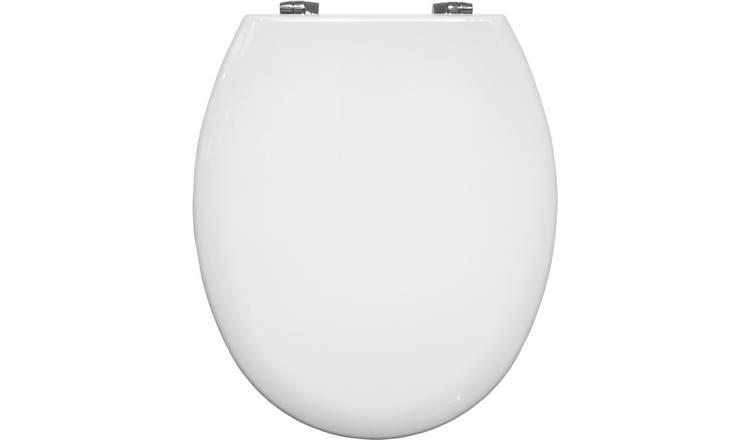 Pleasing Buy Bemis Manhattan Moulded Wood Statite Toilet Seat White Toilet Seats Argos Dailytribune Chair Design For Home Dailytribuneorg