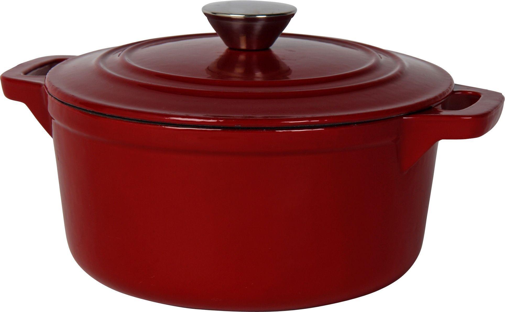 Image of Heart of House 21cm Circular Cast Iron Casserole Dish
