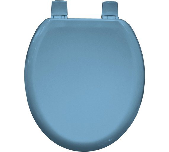 buy bemis chicago moulded wood toilet seat sky blue at. Black Bedroom Furniture Sets. Home Design Ideas