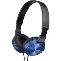 Sony - ZX310 On-Ear Headphones - Blue