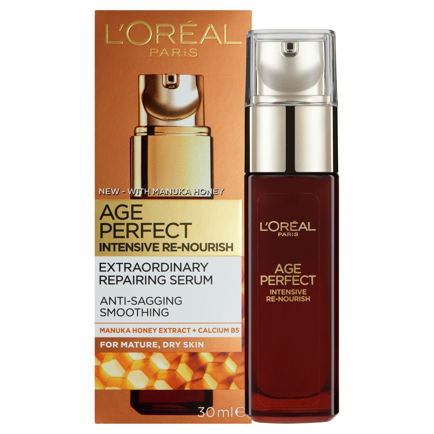 L'Oreal Paris Skin Age Perfect Manuka Serum - 30ml