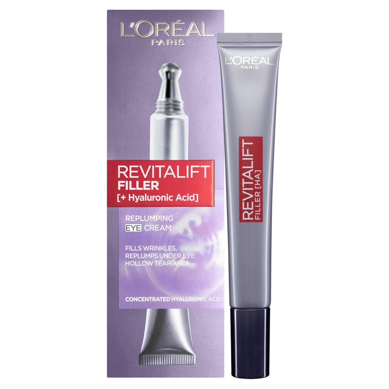 L'Oreal Paris Skin Revitalift Filler Renew Eye Cream - 15ml