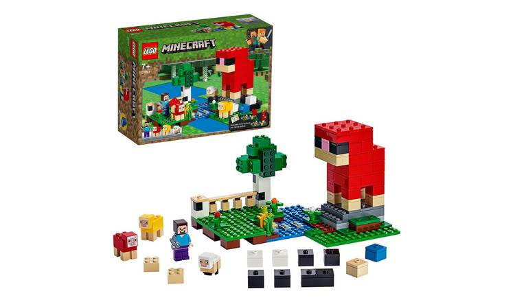 LEGO Minecraft The Wool Farm Playset - 21153