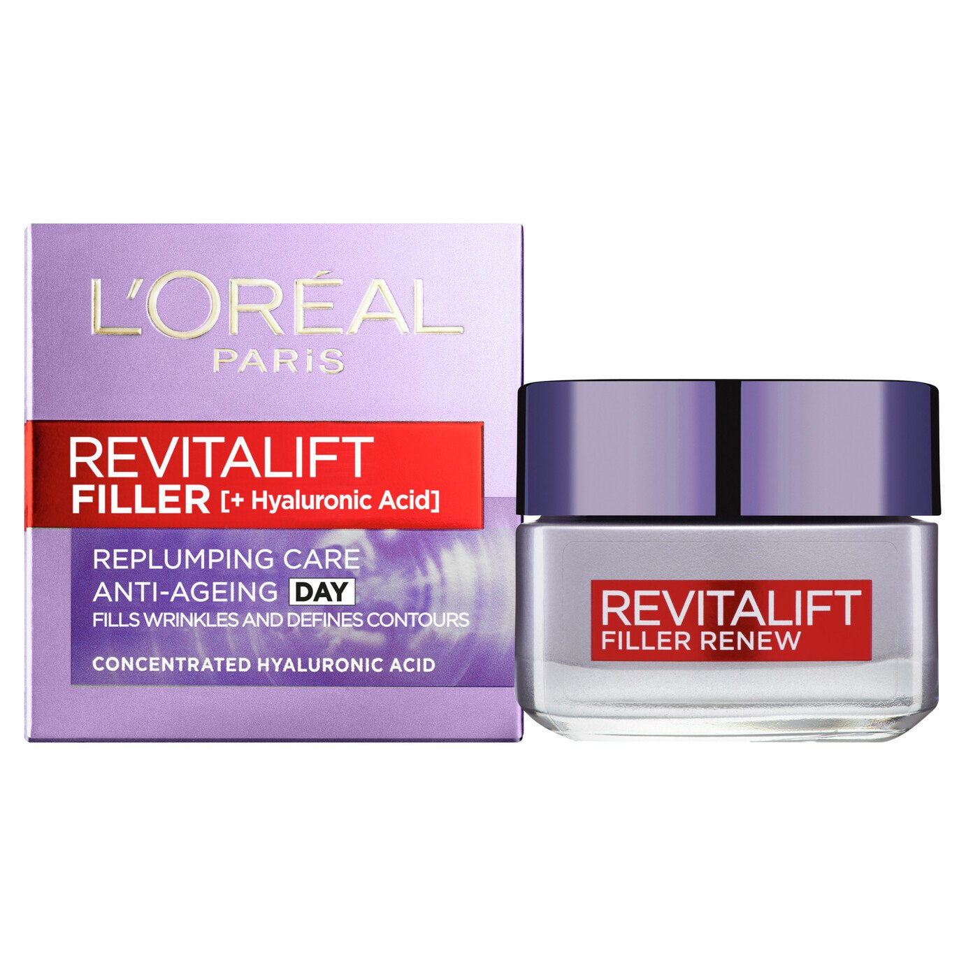 L'Oreal Paris Skin De Revitalift Filler Day - 50ml