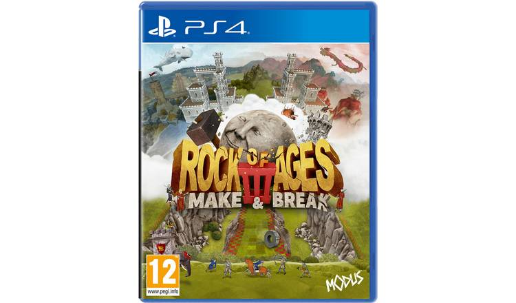 Rock of Ages 3: Make & Break PS4 Game