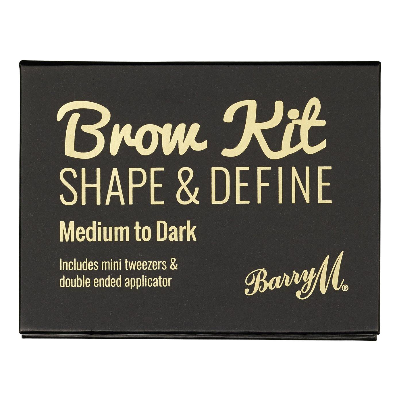 Barry M Cosmetics Brow Kit - Dark Brown