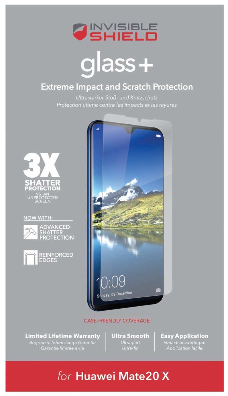 Zagg InvisibleShield Huawei Mate 20 X Screen Protector