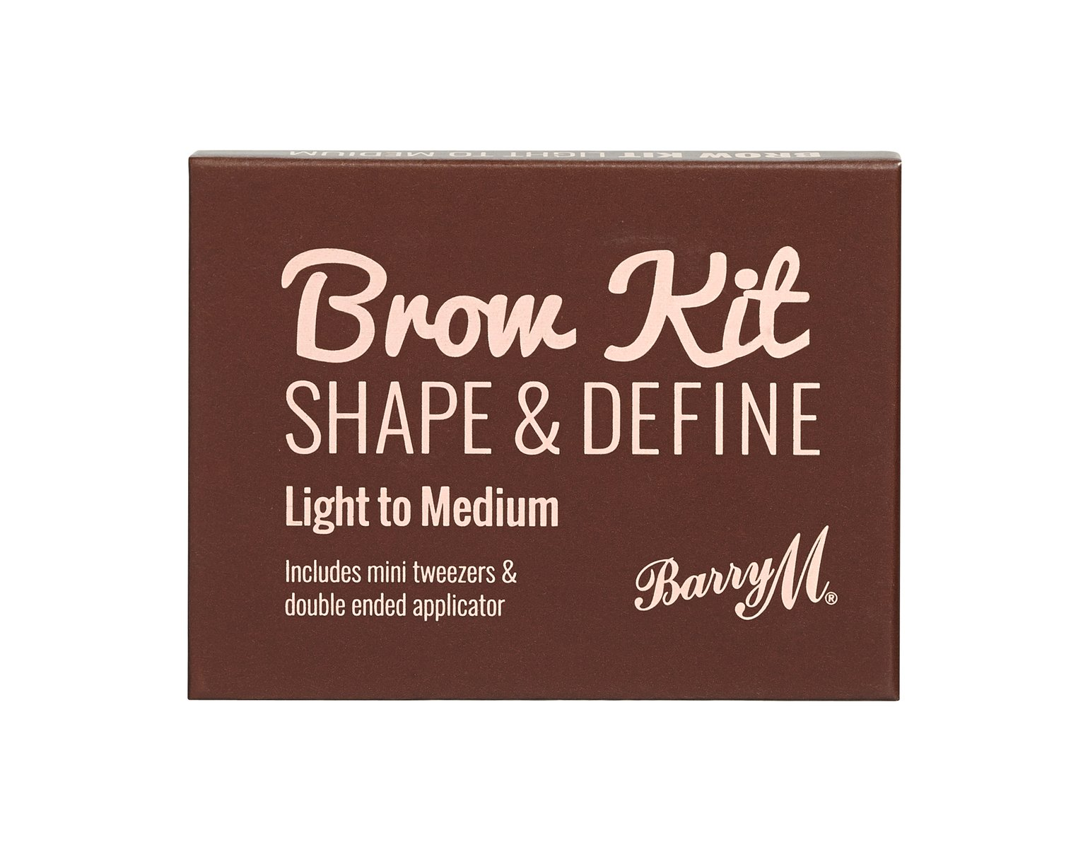 Barry M Cosmetics Brow Kit - Medium Brown