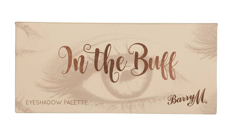 Barry M Cosmetics In The Buff Browns Eyeshadow Palette 4
