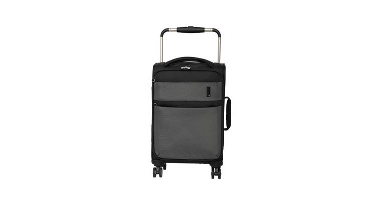 it Luggage World's Lightest 8 Wheel Soft Cabin Suitcase