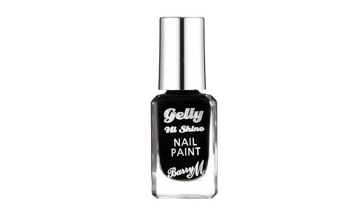 Barry M Cosmetics Gelly Nail Paint - Black Forest