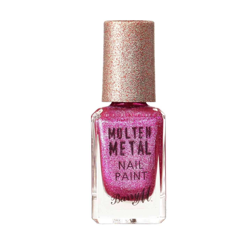 Barry M Cosmetics Molten Metal Nail Paint - Fuschia Kiss
