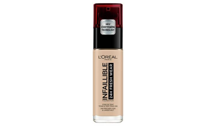 L'Oreal Infallible 24 Hour foundation - Ivory Rose 25
