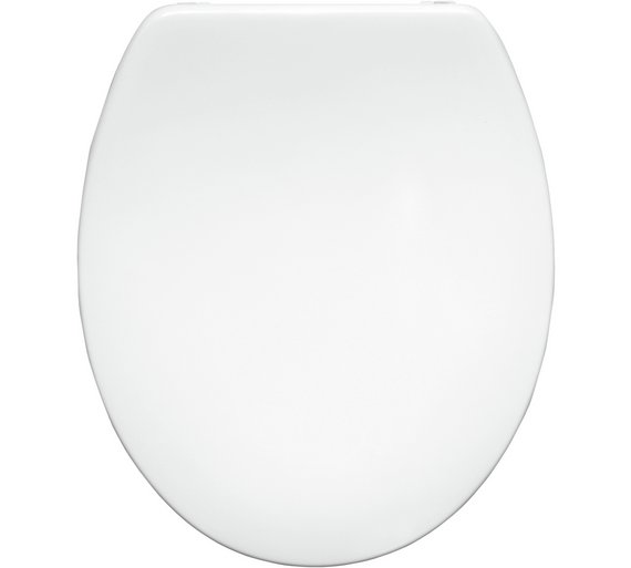 Buy Bemis Roma Thermoset Plastic Statite Toilet Seat White At - Bemis white toilet seat