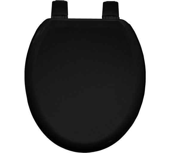 buy bemis chicago moulded wood toilet seat black at. Black Bedroom Furniture Sets. Home Design Ideas