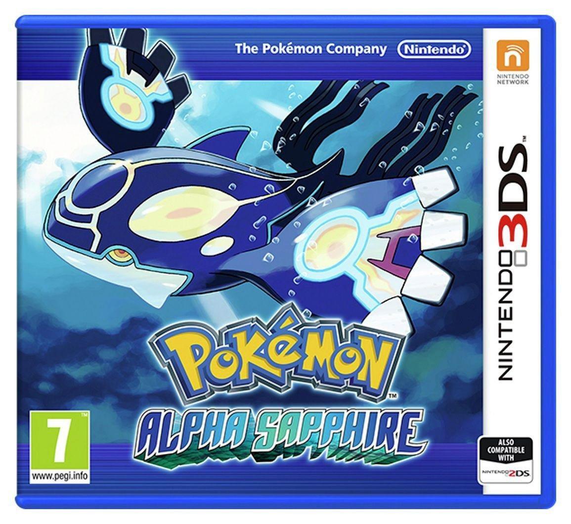 Nintendo Pokemon - Alpha Sapphire - 3DS Game