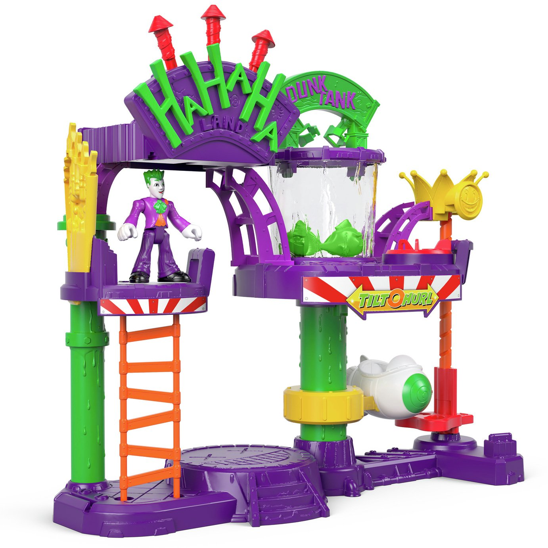 Fisher-Price Imaginext DC Super Friends Joker Laff Factory