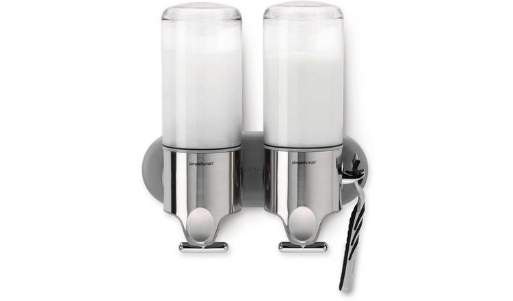 simplehuman 2 Piece 444ml Wall Mount Pump Set