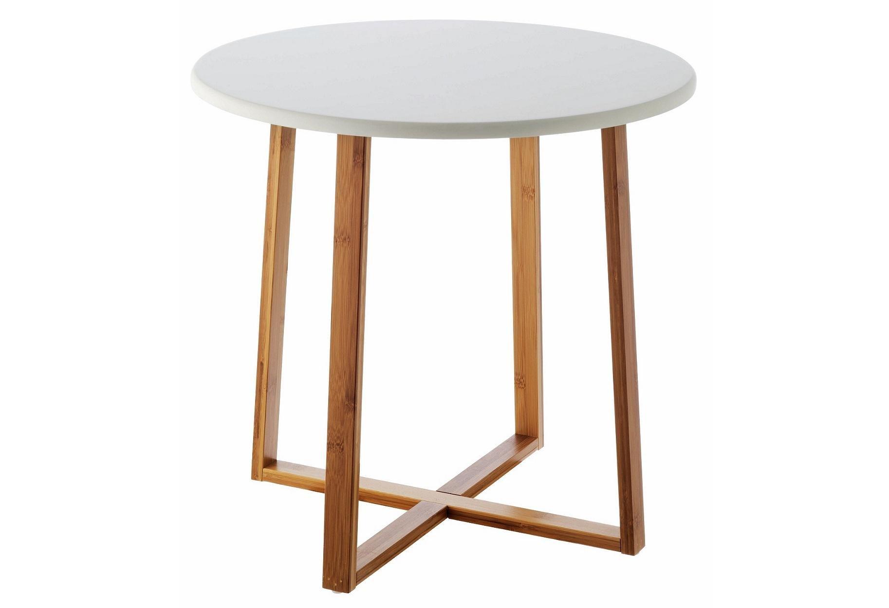 Habitat Drew Low Side Table   Bamboo