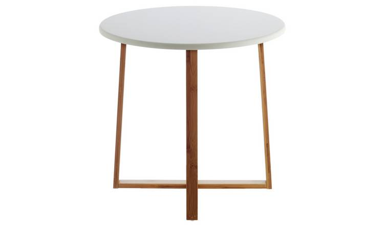 Habitat Drew Low Side Table - Bamboo