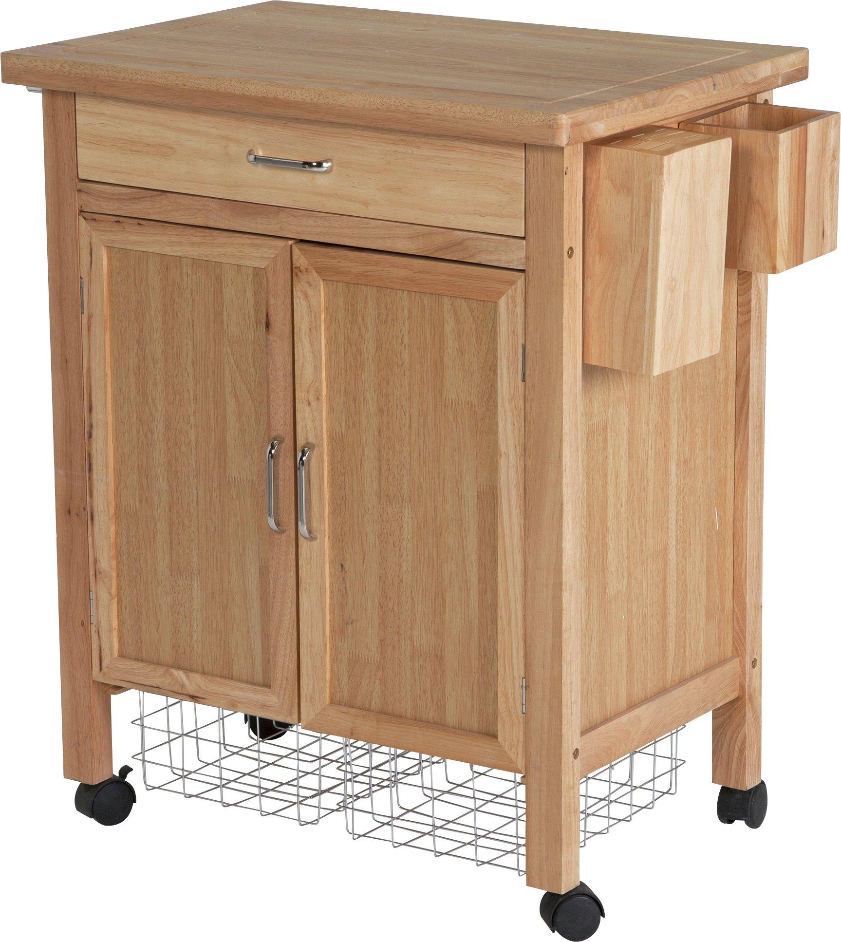 Argos Home Tollerton Wooden Kitchen Trolley