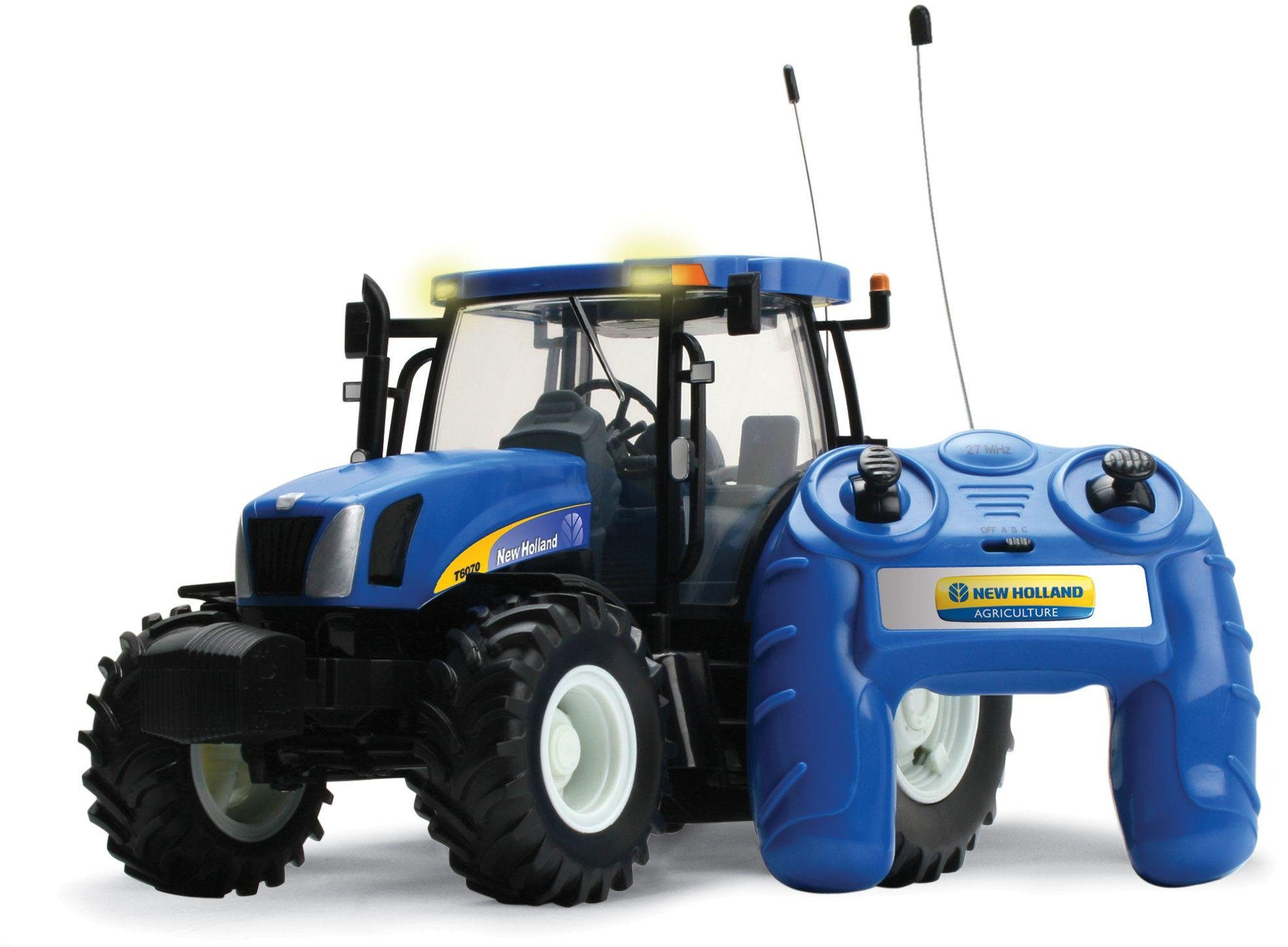 Image of Radio Controlled New Holland T6070 Tractor.