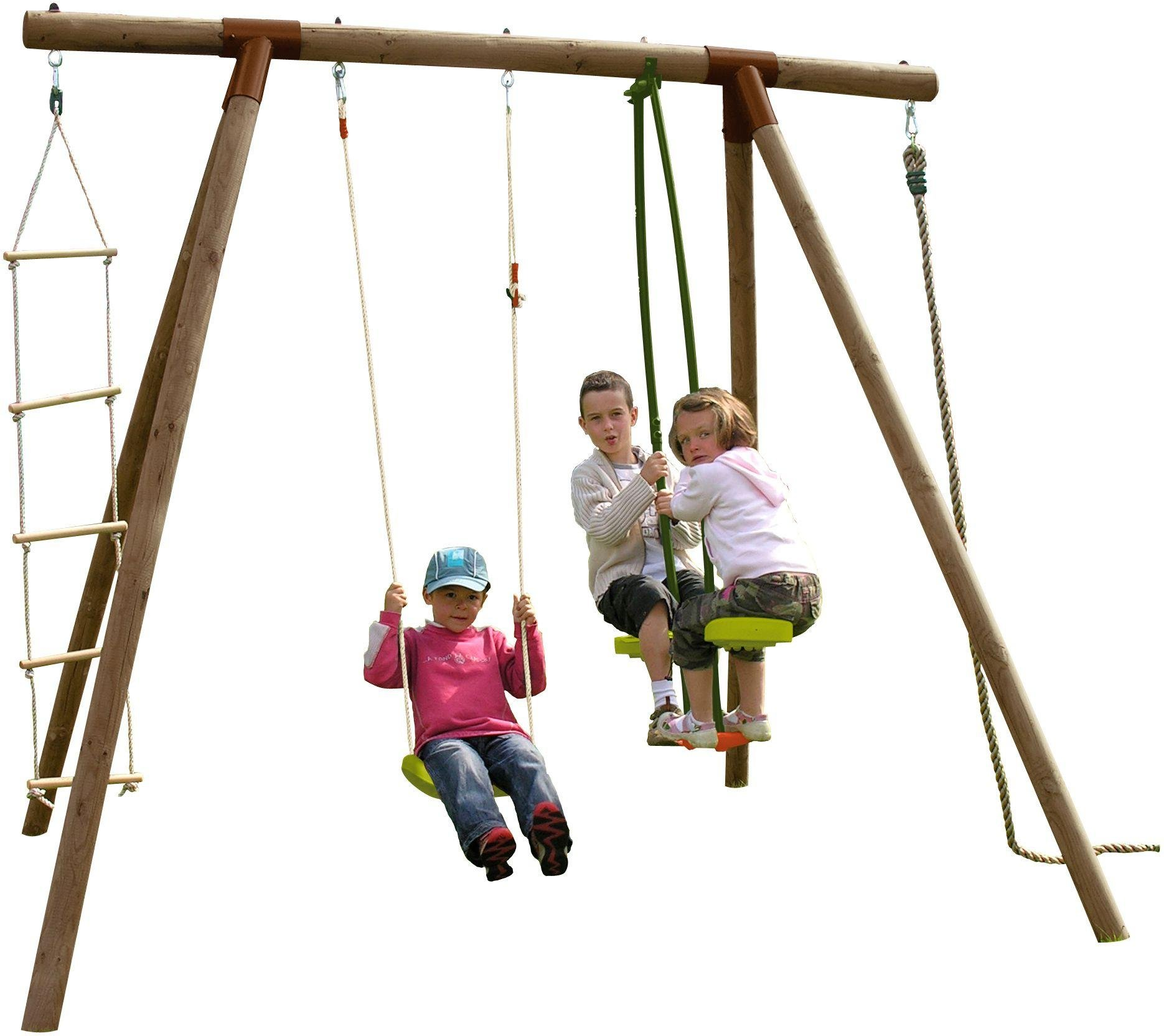 Sale On Soulet Koka Single Swing See Saw Climbing Ladder