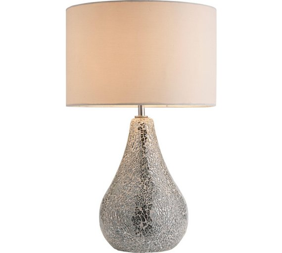 Buy heart of house eloise crackle finish table lamp for Quicker table lamp