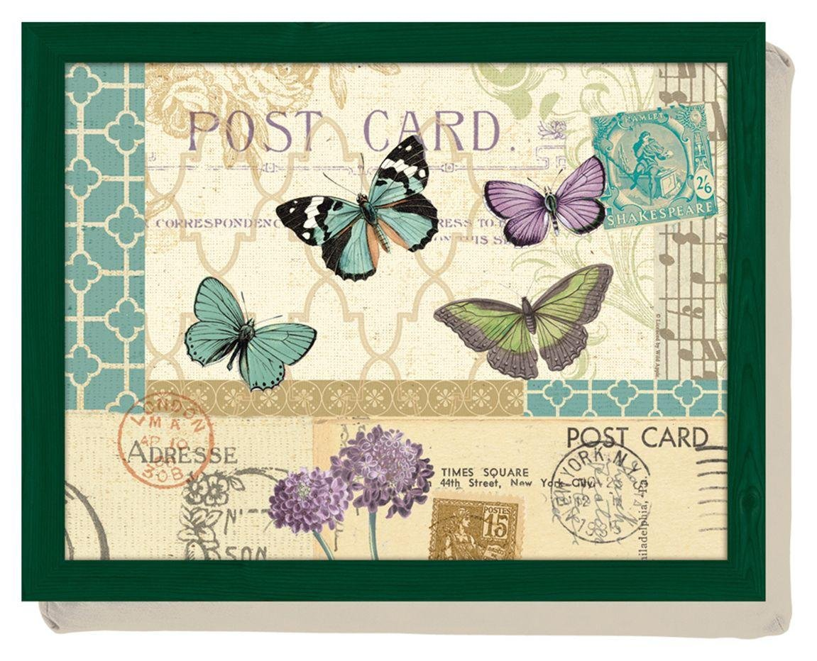 Image of Creative Tops Postcard Butterfly's Lap Tray.