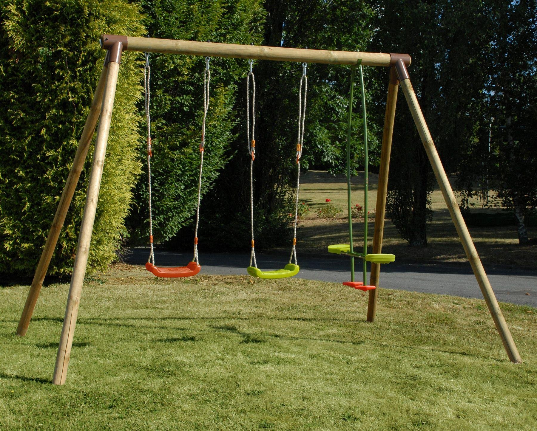 Soulet Pinede Double Swing and See-Saw Swing Attatchment.