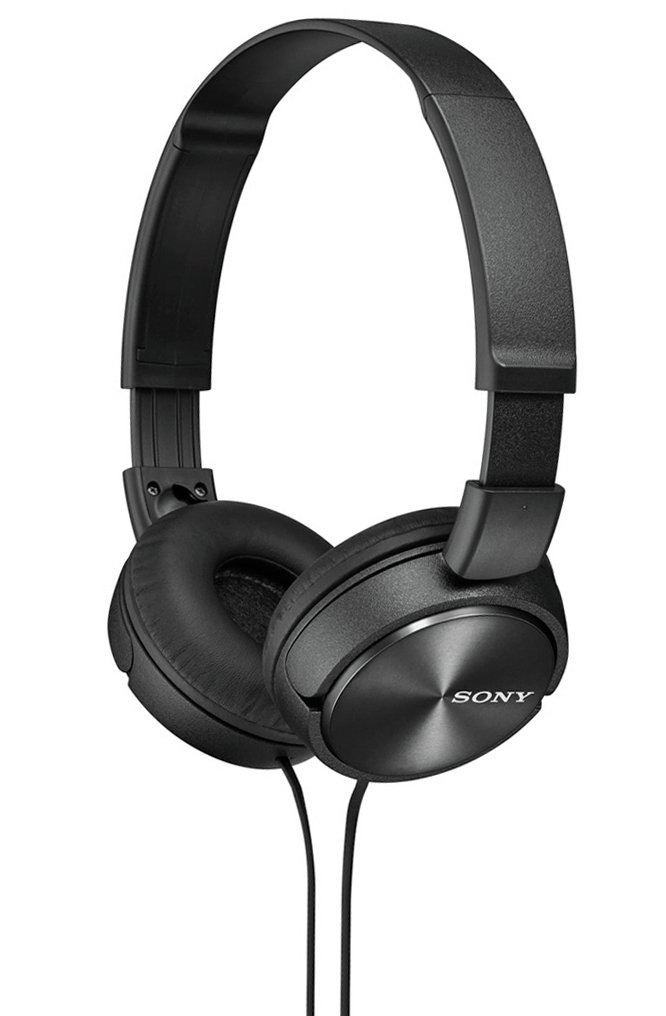 Sony Sony - ZX310 On-Ear Headphones - Black