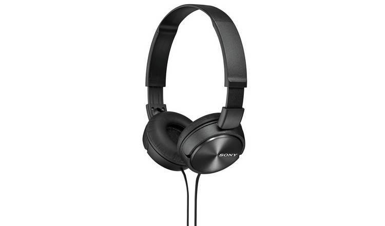 Buy Sony ZX310 On-Ear Headphones - Black | Headphones and earphones | Argos