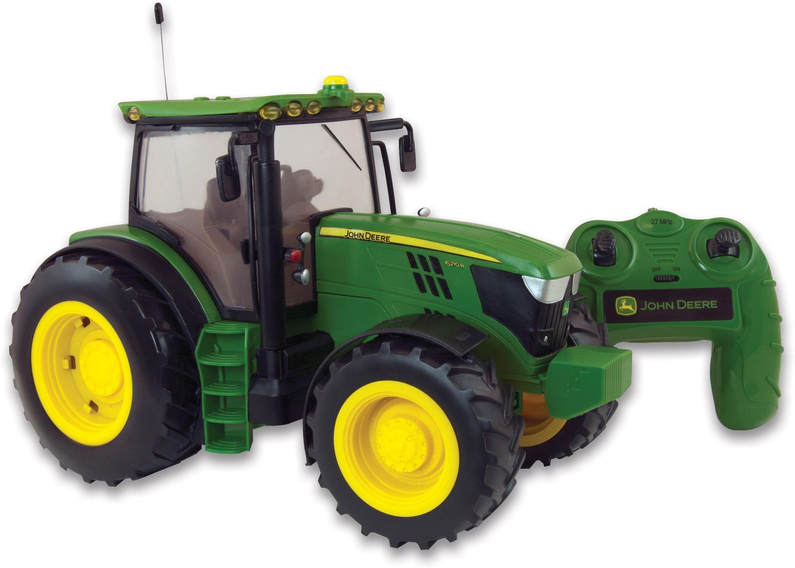 Image of Radio Controlled John Deere 6190R Tractor.