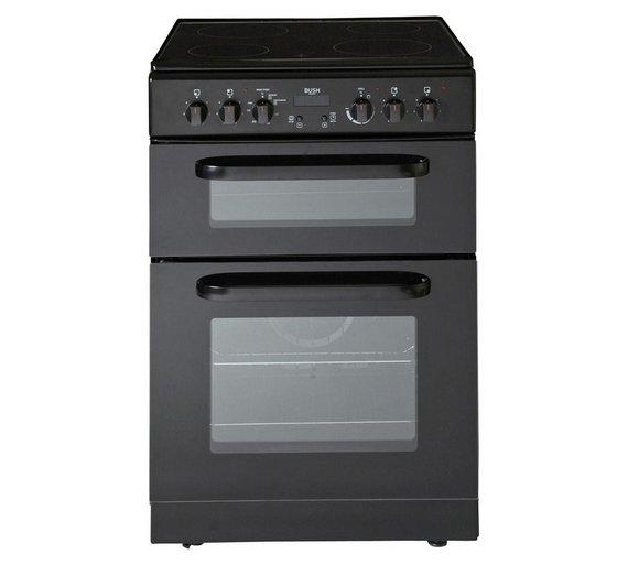 buy bush betc60b electric cooker black at. Black Bedroom Furniture Sets. Home Design Ideas