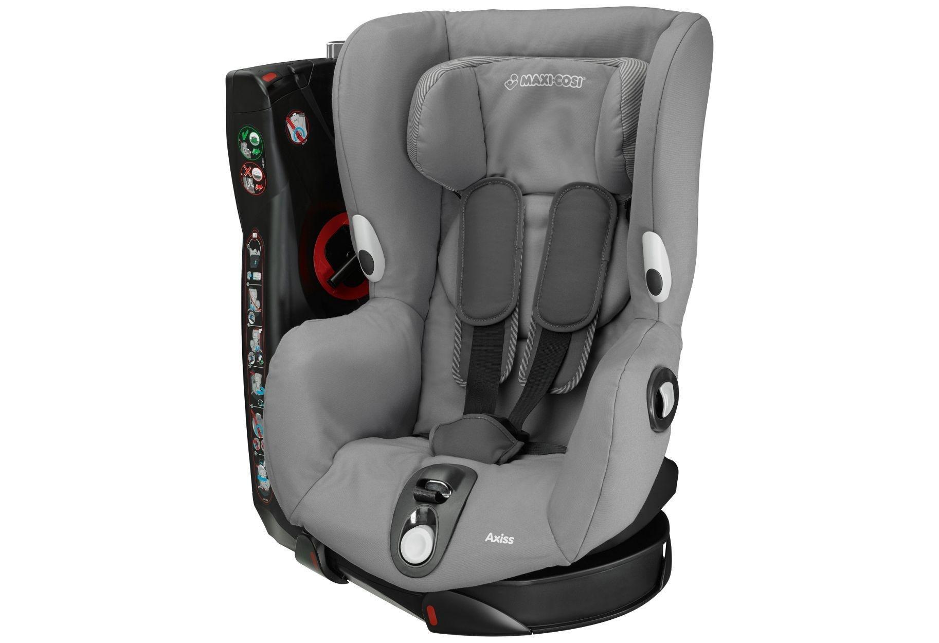 Maxi-Cosi Axiss Group 1 Car Seat - Concrete Grey