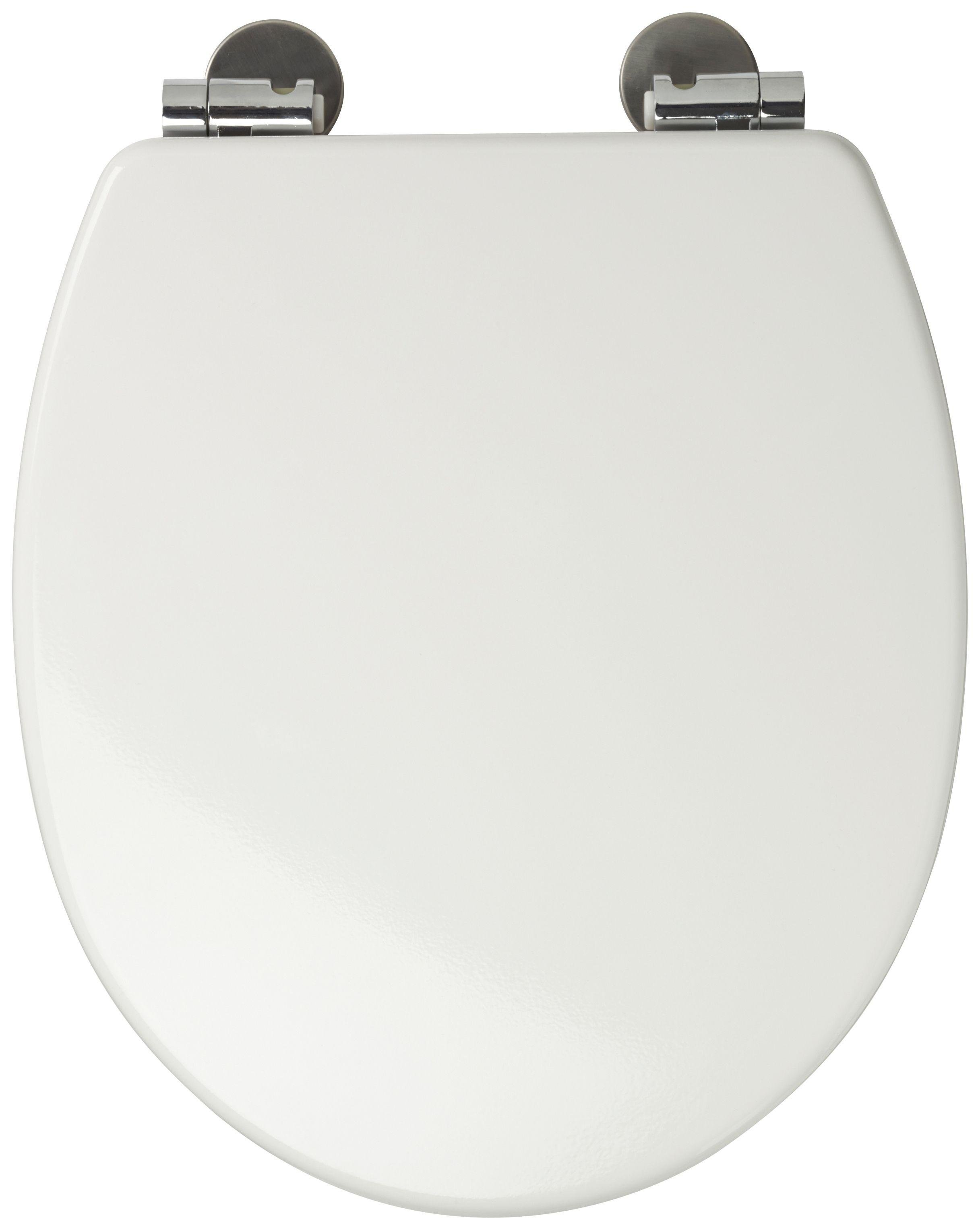 Image of Croydex - Sit Tight Dawson - Toilet Seat - White