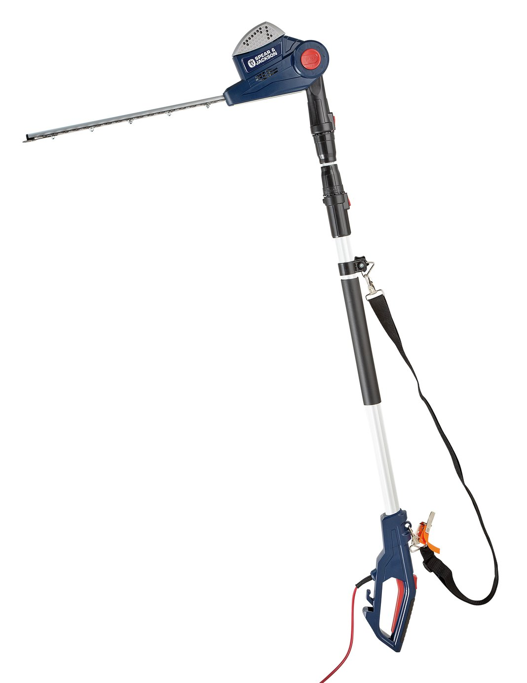 Spear & Jackson Pole Hedge Trimmer - 550W