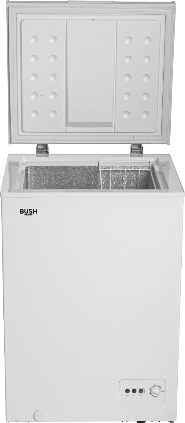 Bush BCF142L Chest Freezer - White Best Price, Cheapest Prices