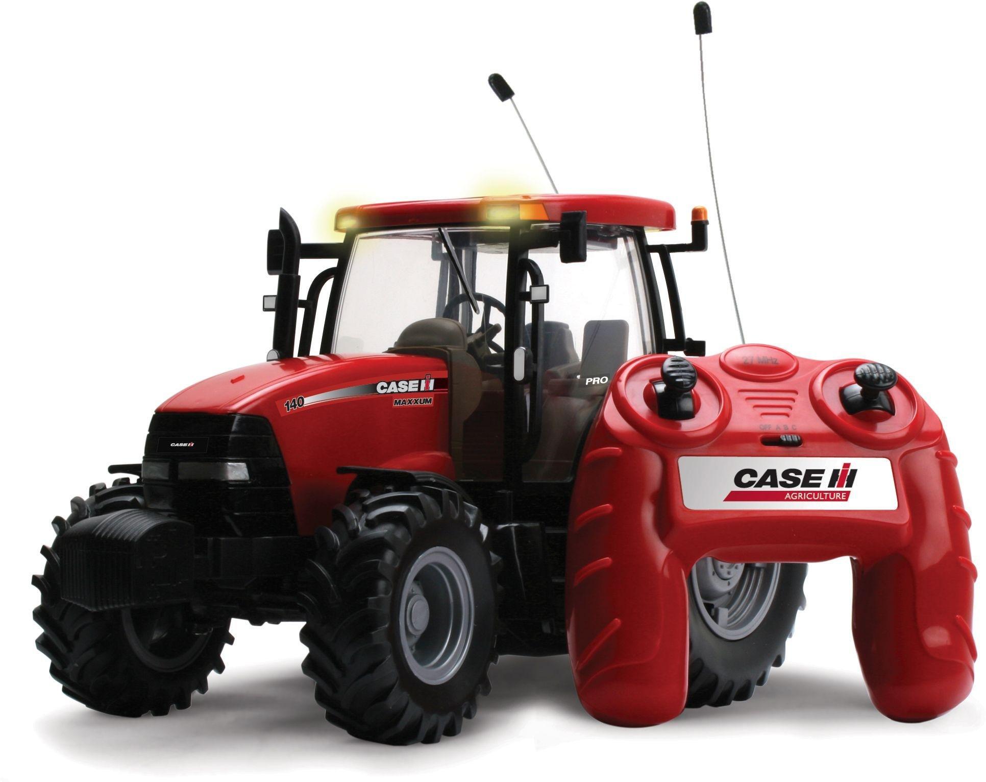 Image of Britians Big Farm - Radio Controlled Case - 1H 140 Tractor