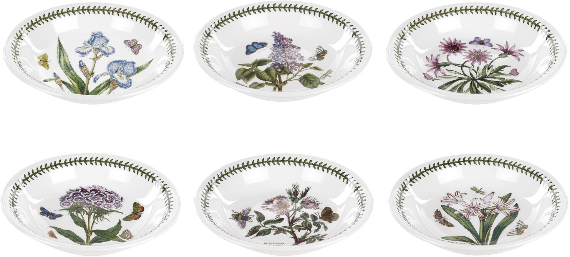 Portmeirion - Botanic Garden Set of 6 Pasta Bowls