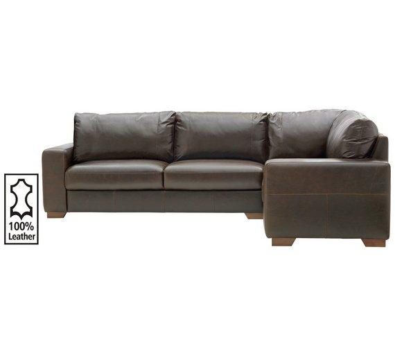 argos corner sofa bed leather. Black Bedroom Furniture Sets. Home Design Ideas