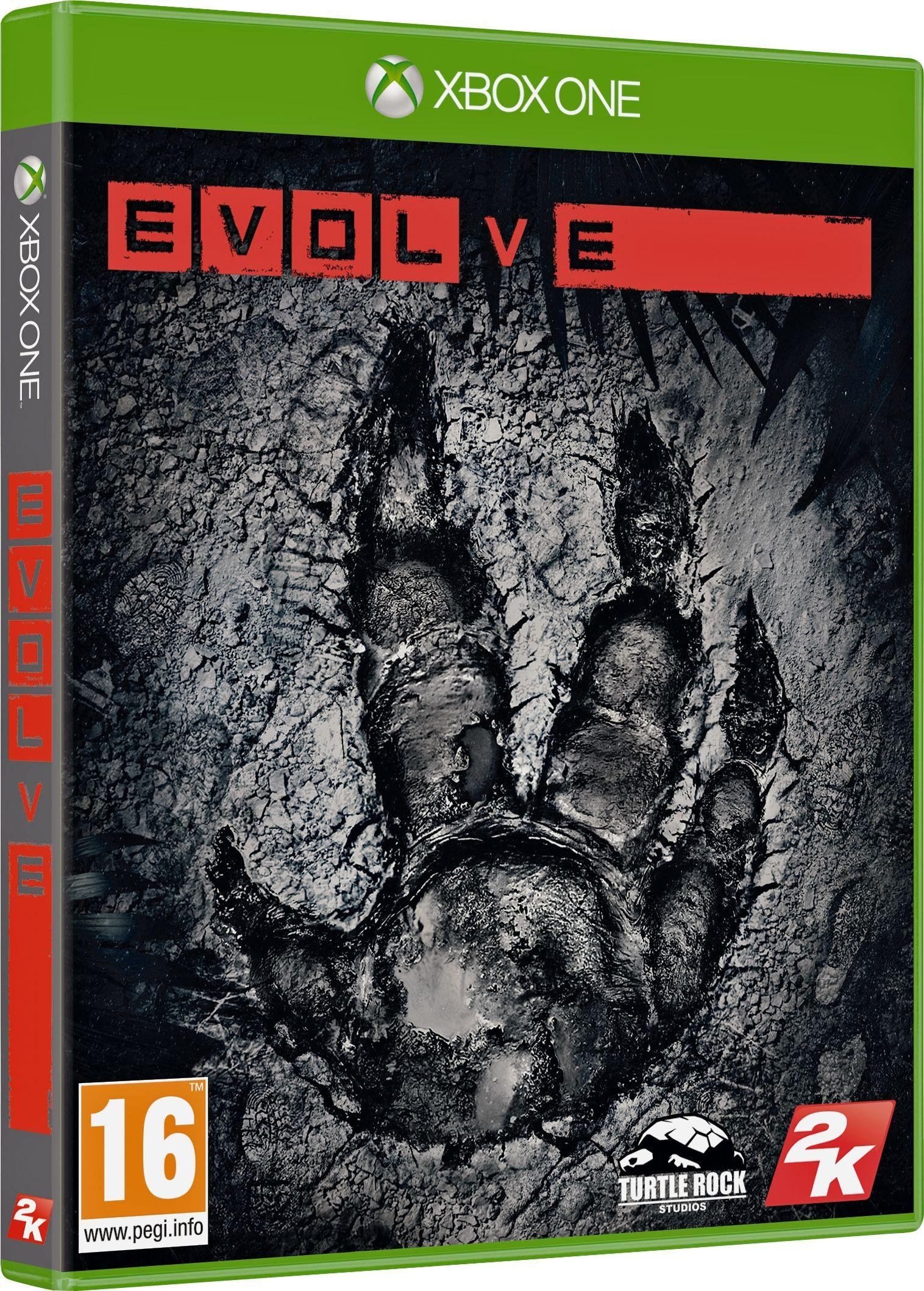 Image of Evolve Xbox One Game.