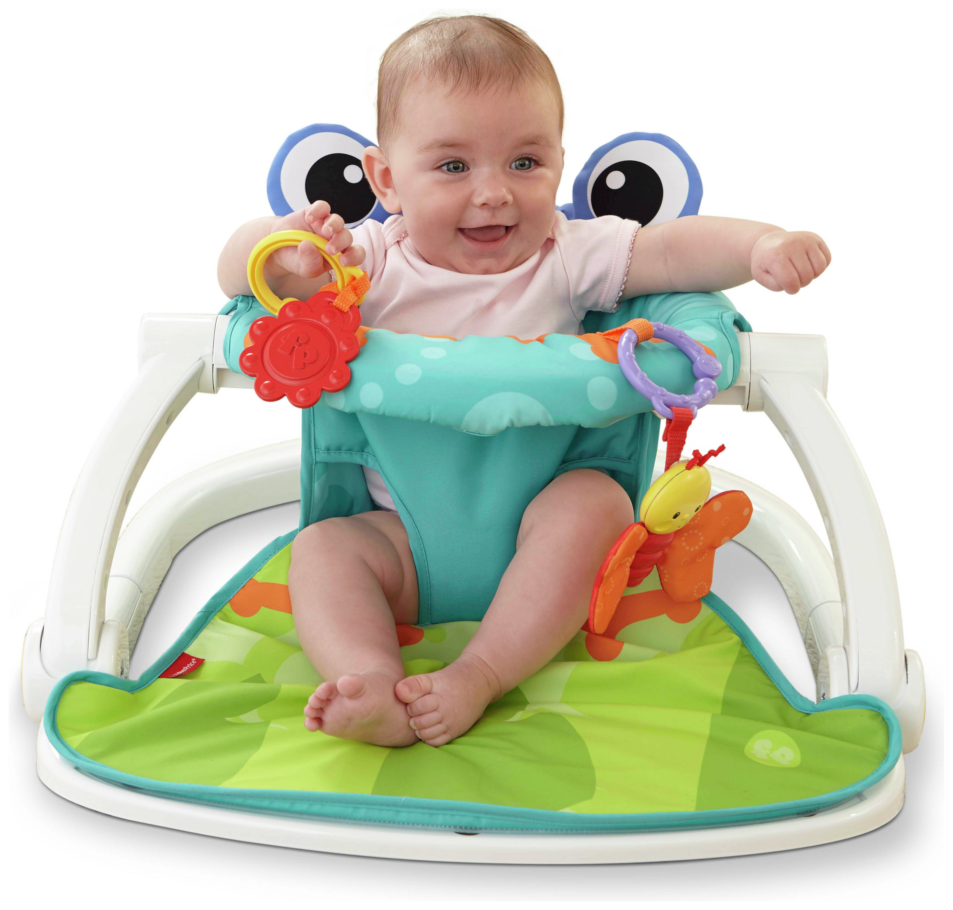 Image of Froggy Sit Me Up Floor Seat.