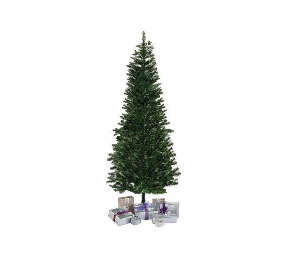 Buy Argos Home 6ft Slim Christmas Tree - Evergreen | Christmas trees ...
