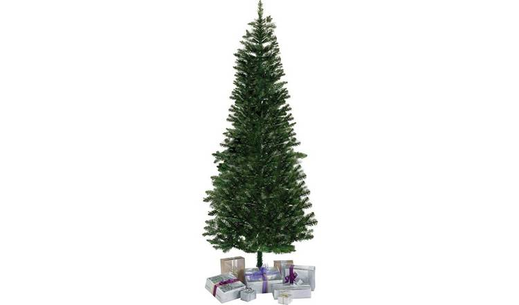 Buy Argos Home 6ft Slim Christmas Tree Evergreen Christmas Trees Argos
