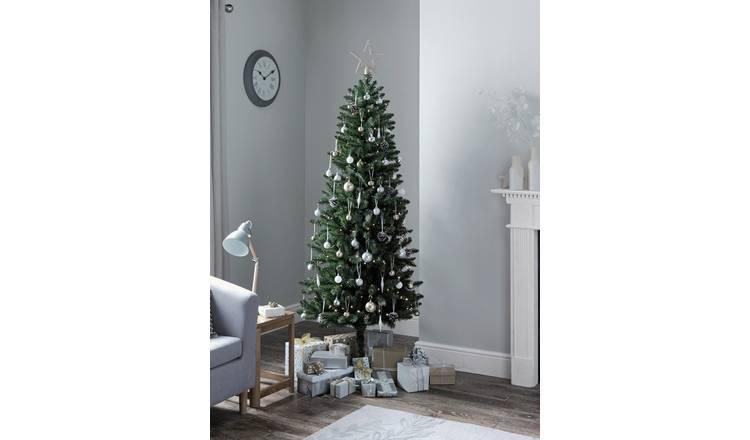 Slim Christmas Tree.Buy Argos Home 6ft Slim Christmas Tree Evergreen Artificial Christmas Trees Argos